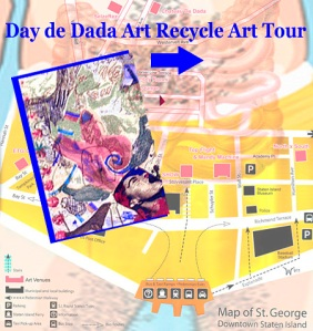 Day de Dada Recycle Art Tour