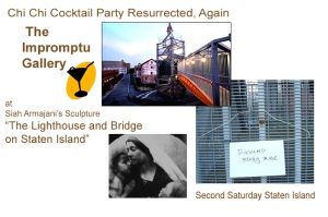 Chi Chi Cocktail Party at the Impromptu Gallery Second Saturday Staten Island